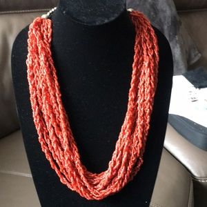 Multi Strands Braided Necklace
